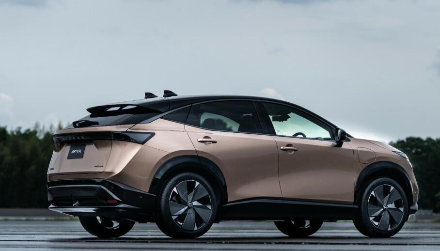 LANSERT: Nissan Ariya er nå offisiell, og kommer til landet siste halvdel 2021. Foto: Nissan