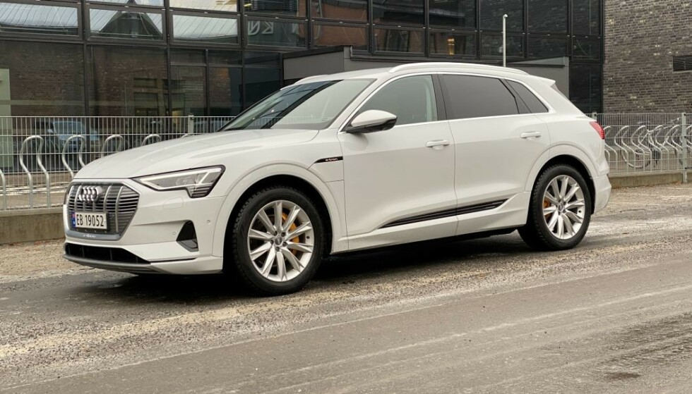 Ni av ti solgte Audi i Norge i 2020 er e-tron. Foto: Fred Magne Skillebæk