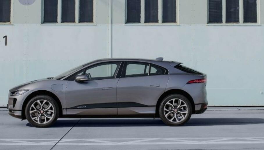 Jaguar I-Pace slippes i en ny og billigere versjon med færre hestekrefter. Foto: Jaguar Land Rover.