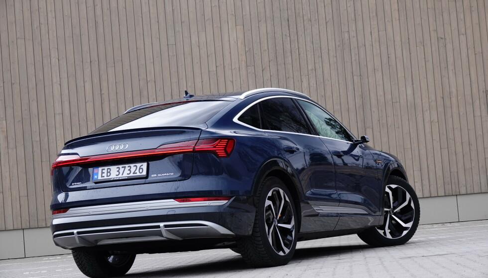 PÅ TOP: Audi e-tron tar også i august øverste pallplass. Foto: Fred Magne Skillebæk