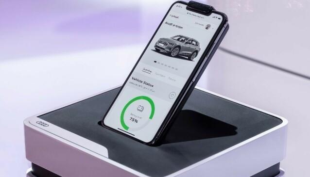 <strong>FoD:</strong> Funksjoner ved behov kan kjøpes via bilens app, eller fra en nettportal. Foto: Audi