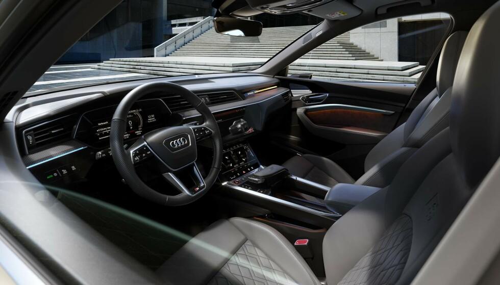<strong>FULLE AV UTSTYR:</strong> Biler er som regel proppet med utstyr, kanskje mer enn du visste at du hadde. Foto: Audi