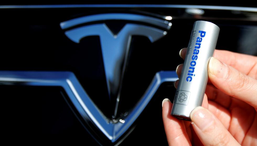SOLGT: Panasonic har nå solgt sine 1,4 millioner akskjer i Tesla. Foto: REUTERS/Yuya Shino