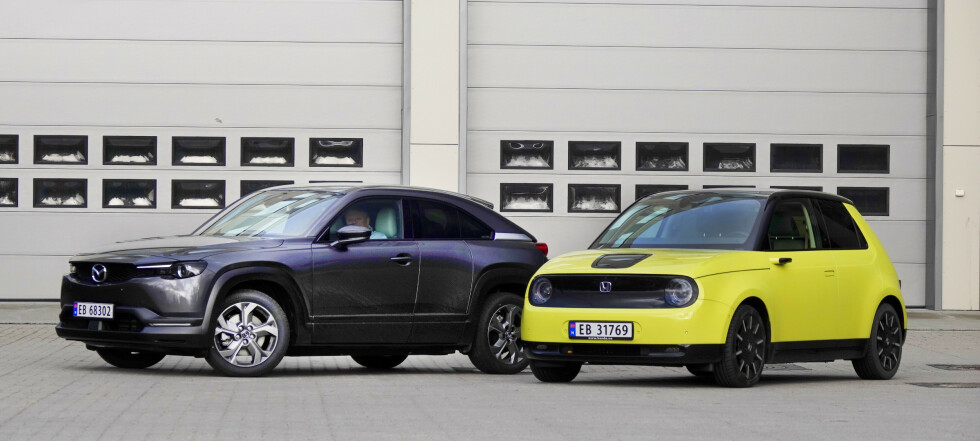 Honda eller Mazda: Denne bør du kjøpe