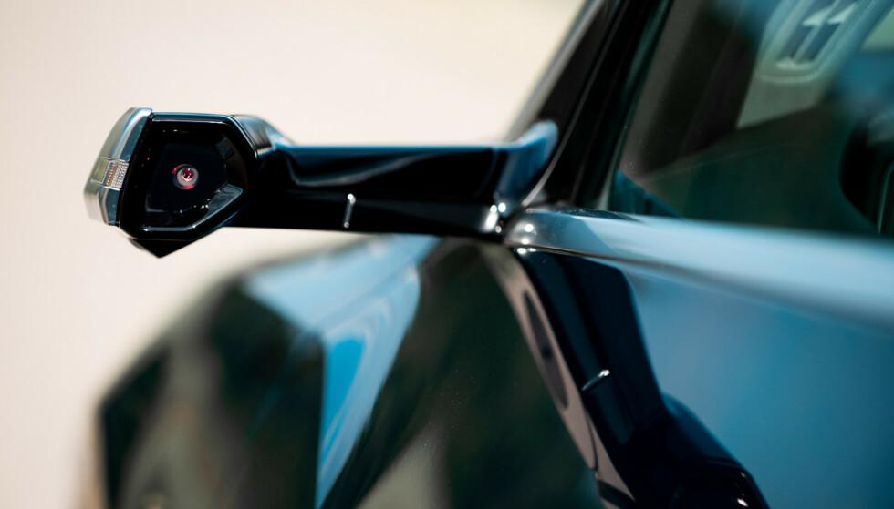 Kameraspeil: Et kamera er plassert der speilet normalt sitter. Foto: Produsenten