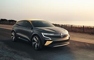 Renault elektrifiserer Mégane