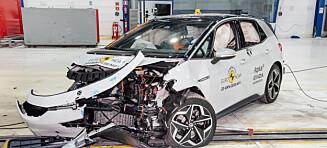 Se VW ID.3 smelle i veggen