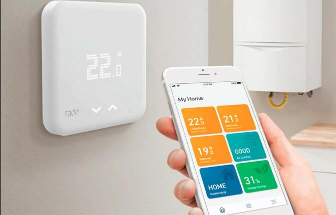 Styringssytem: Med en smarthusløsning kan du sørge for at du får brukt mesteparten av solstrømmen selv. Foto: Produsenten