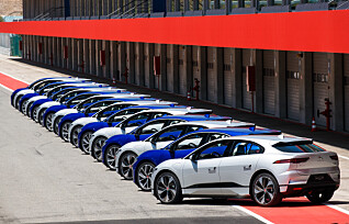 Jaguar blir rent elbil-merke