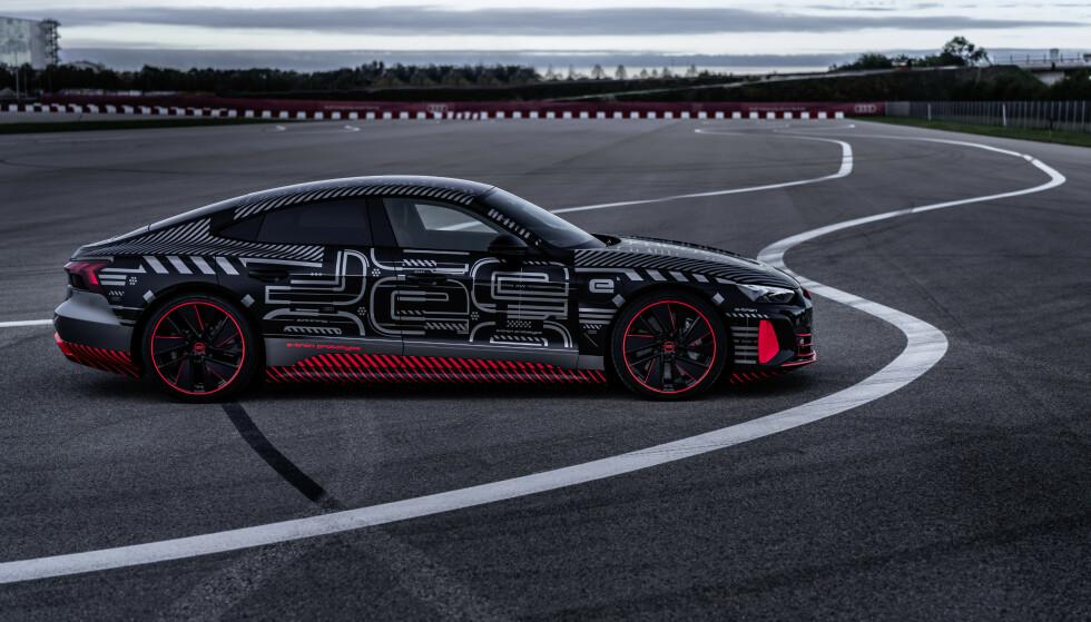 Her er Audis heftigste elbil noensinne