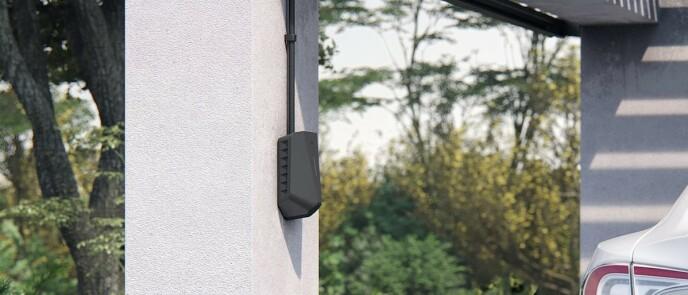 Smart: Disse ladeboksene holder orden på strømforbruk hvilken bil som lades. Foto: Produsenten