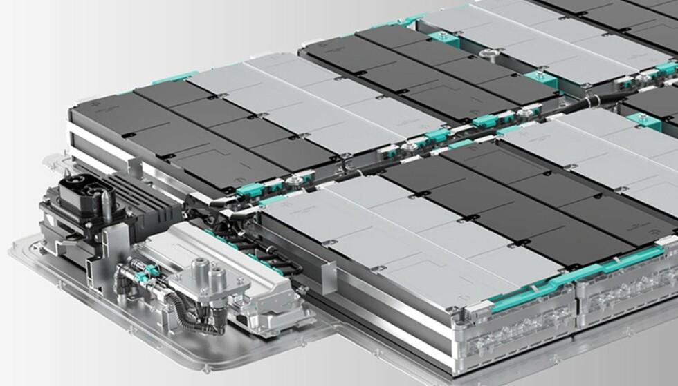 CELL-TO-PACK: Nio går fra å putte cellene i moduler til å pakke dem rett i batterikassen. Foto: Nio