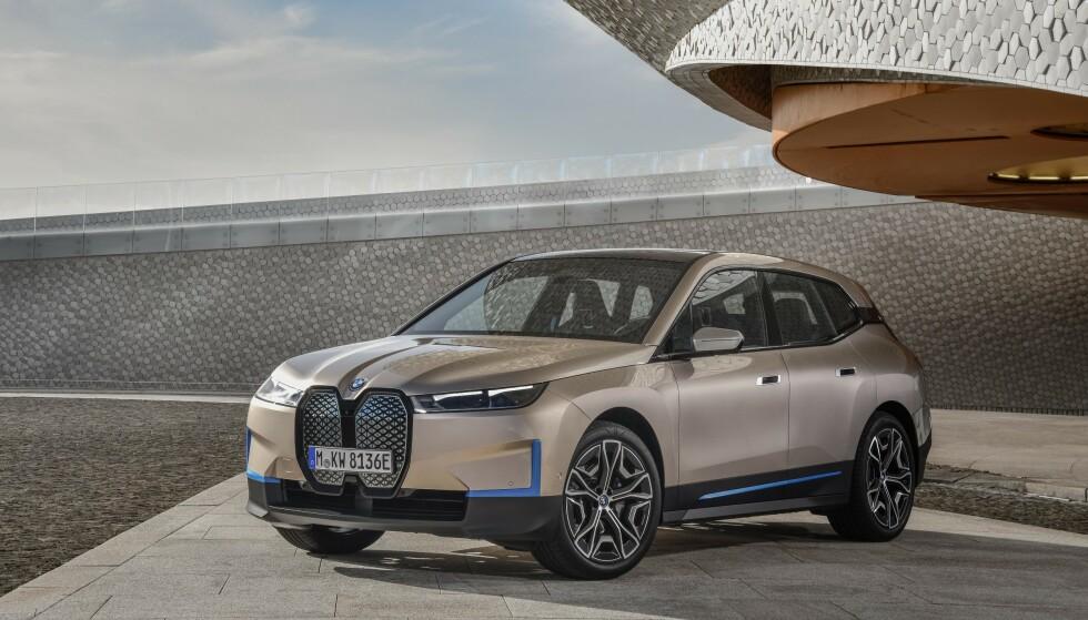 BMW: Og det er ingen tvil om merketilhørigheten, takket være grillen. Foto: BMW