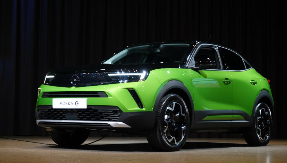 Her er elektriske Opel Mokka
