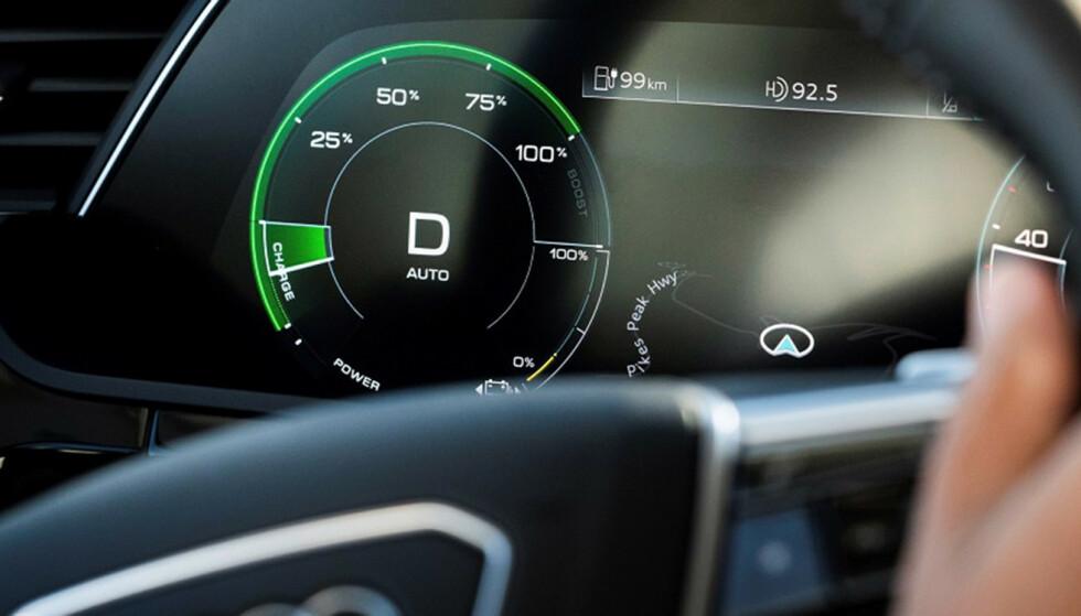 Degradering: Batteripakken taper seg over tid, hvor mye varierer mellom de ulike bilmodellene. Foto: Produsenten