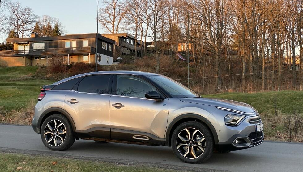 ELEKTRISK CITROËN: En fullutstyrt bil i kompaktklassen til denne prisen er et svært godt alternativ. Foto: Fred Magne Skillebæk