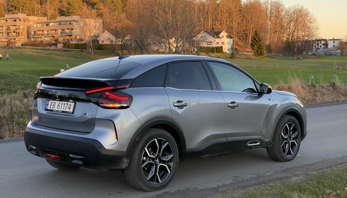 MIKS: Er den en coupé, hatchback, eller begge deler? Foto: Fred Magen Skillebæk