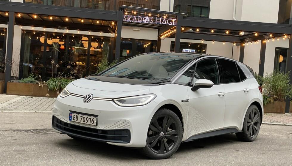 STORSELGER: På tre måneder har over 5.000 nye kunder hentet ut en ny VW ID.3. Det gjør den til en bestselger. Foto: Fred Magne Skillebæk