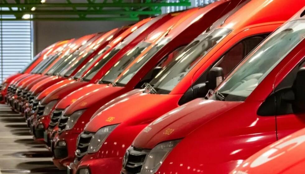 GÅR FOR MAXUS: Posten er så fornøyde med sine 22 Maxus-varebiler, at de har kjøpt 70 nye. Foto: Stig Tvergrov