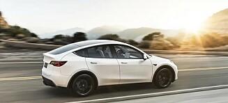 Bekrefter forsinkelse for Tesla Model Y