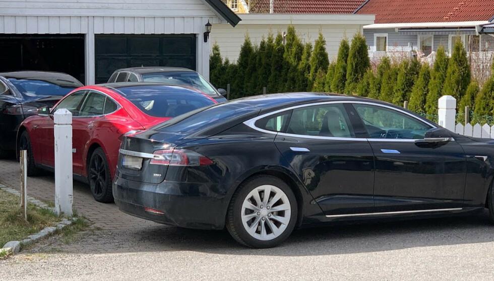 ELBIL-LANDET: Norge har kommet lengst i elektrifiseringen av bilparken. I 2020 var mer enn annenhver nyregistrerte bil en elbil. Foto: Bjørn Eirik Loftås