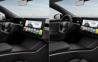 - Flere fordeler med Tesla-rattet