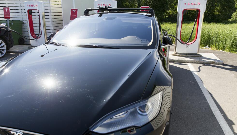 Problemene som fører til tilbakekallingen, kan ramme Model S og Model X produsert før mars 2018. Illustrasjonsfoto: Tore Meek/NTB