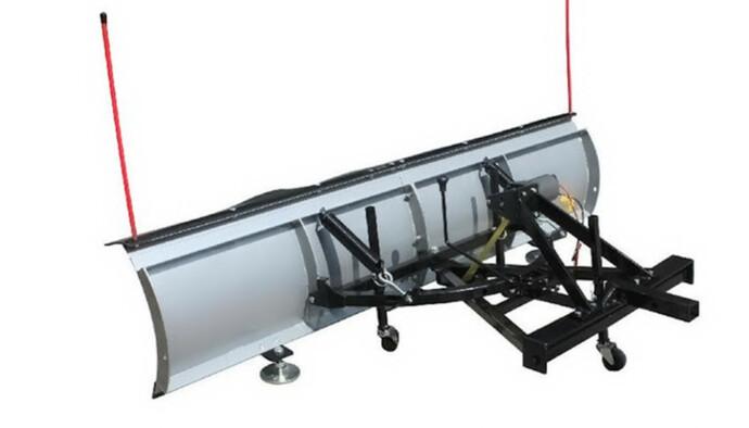 Hev og senk: Dette skjæret kan settes foran og bak bilen. Det kan også heves og senkes om det kobles til bilens strømsystem. Foto: Wee.no