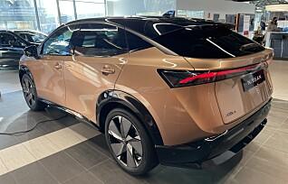 Nissan Ariya: Flere steg opp