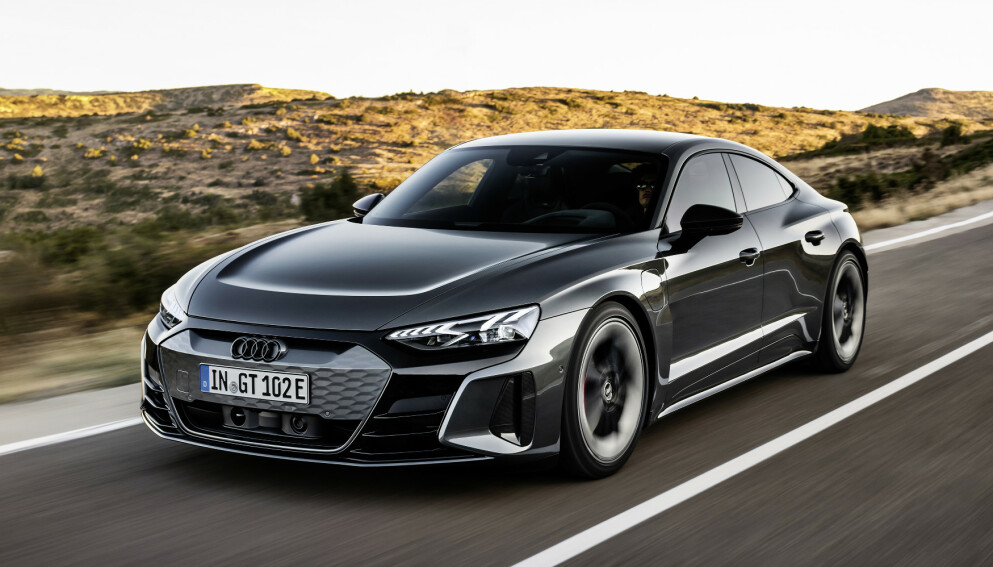 RÅESTE NOENSINNE: Ingen serieprodusert Audi er raskere enn e-tron GT. Foto: Produsenten