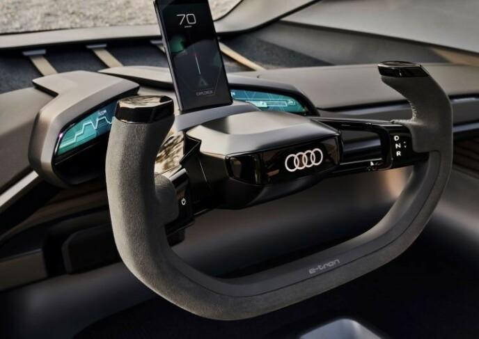 Audi AI-TRAIL quattro - en konseptbil fra 2019. Foto: Audi