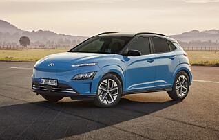 Hyundai Kona blir ny og billigere