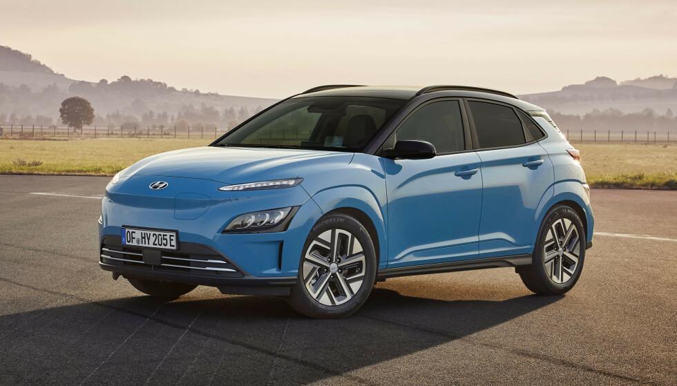 OPPGRADERT: Nye Hyundai Kona Electric. Foto: Hyundai