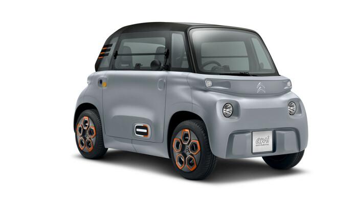 Citroen AMI: Denne bilen tar deg fra a til b på absolutt billigste måte. Foto: Produsenten