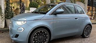 Fiat 500 - et elektrisk sjarmtroll