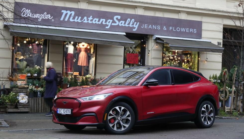 BARE EL: Mustang Mach-E er en smakebit på hva vi har i vente fra Ford i tiden som kommer. Foto: Fred Magne Skillebæk