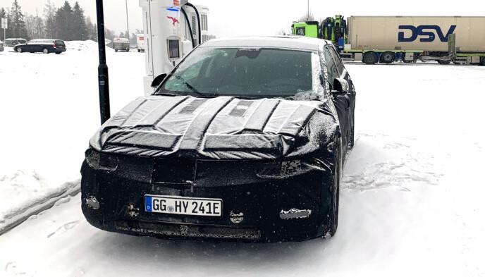 SOMMEREN 2021: Bilen vises til offentligheten nå i februar, og kommer på markedet til sommeren. Foto: Privat