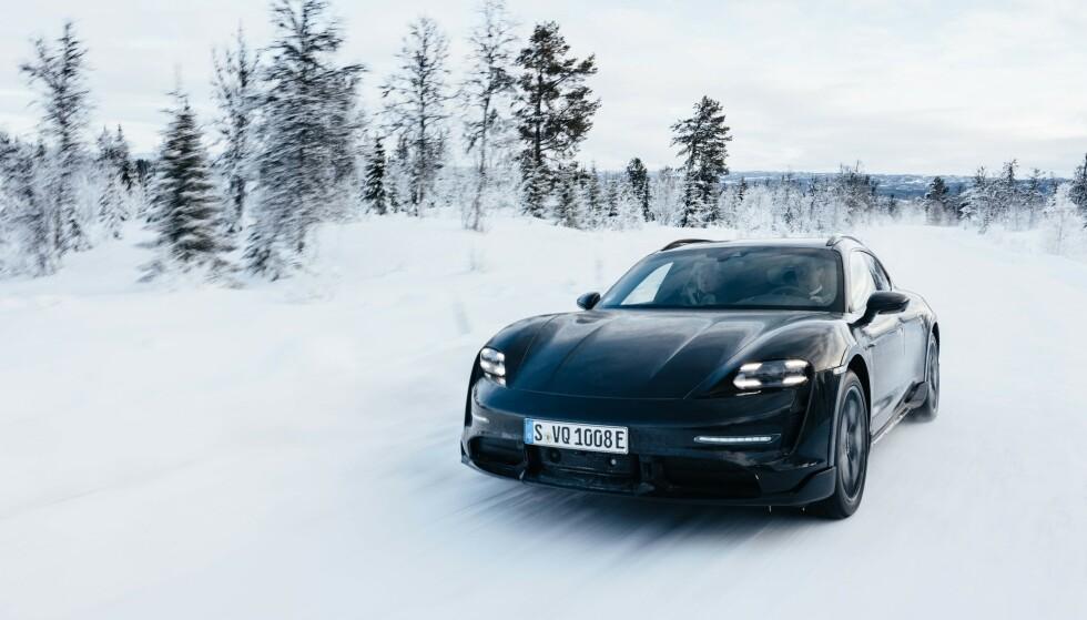 """Elektrisk """"stasjonsvogn"""" fra Porsche"""