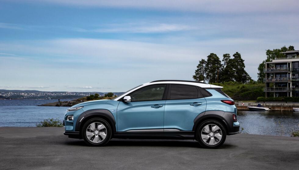 BATTERI-TRØBBEL: Hyundai Kona og Ioniq må gjennom verdens dyreste tilbakekallingskampanje, i følge den koreanske transportministeren. Foto: Jamieson Pothecary