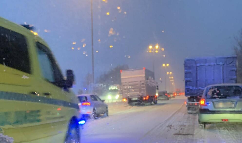 POSITIV UTVIKLING: Hittil i år har ni personen omkommet i trafikken, mot 17 på samme tidspunkt i fjor. Foto: Bjørn Eirik Loftås