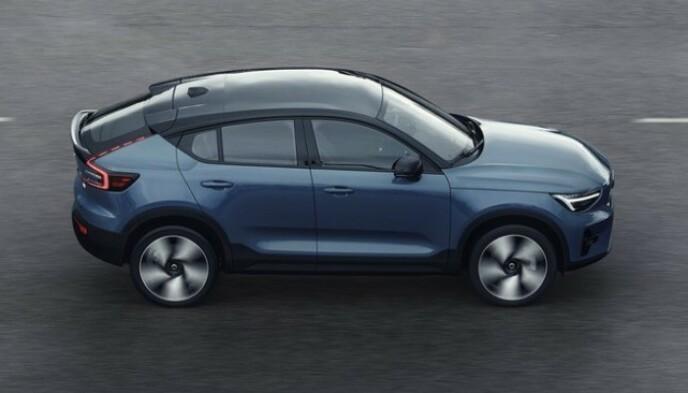 VITALE MÅL: De fleste målene er svært lik slektningen XC40. Foto: Volvo