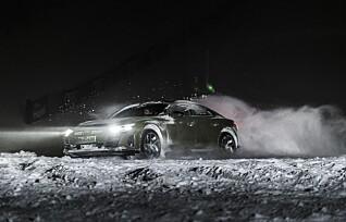 Råskinnet Audi RS e-tron GT i test