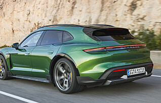 Elektrisk stasjonsvogn fra Porsche før sommeren