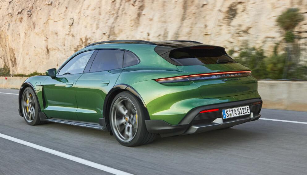 SNART I NORGE: Porsche Taycan Cross Turismo blir en storselger for Porsche i Norge. Snart er den her. Foto: Porsche