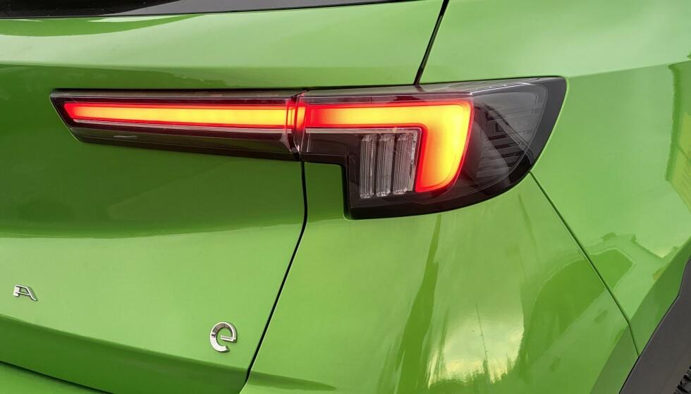 LED: Også bak er det LED-lys hele veien. Foto: Fred Magne Skillebæk