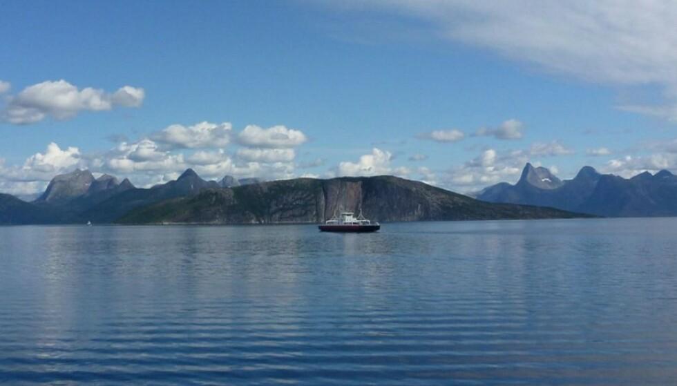BINDELEDDET: Fergesambandet over Tysfjorden binder på mange måter nord og sør sammen. Nå blir fergene elektrifisert og antall avganger økes. Foto: Statens Vegvesen