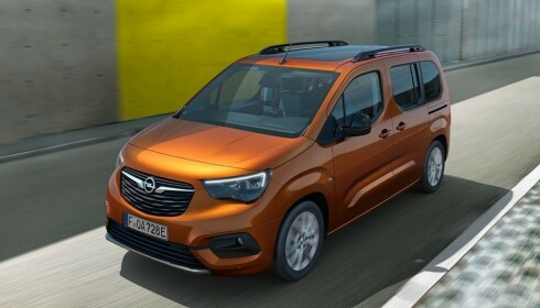 Opel Combo-e Life. Foto: PSA
