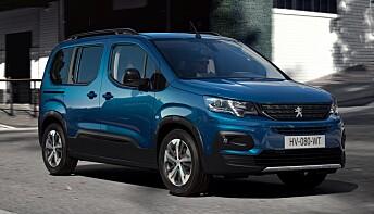 Peugeot e-Rifter. Foto: PSA