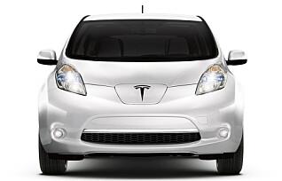 Tesla snart like vanlig syn som Nissan Leaf
