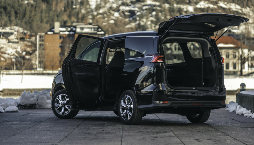 VAREBIL: Maxus Euniq MPV kommer nå som varebil. Foto: RSA